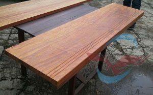 harga papan tangga kayu merbau tanpa sambung
