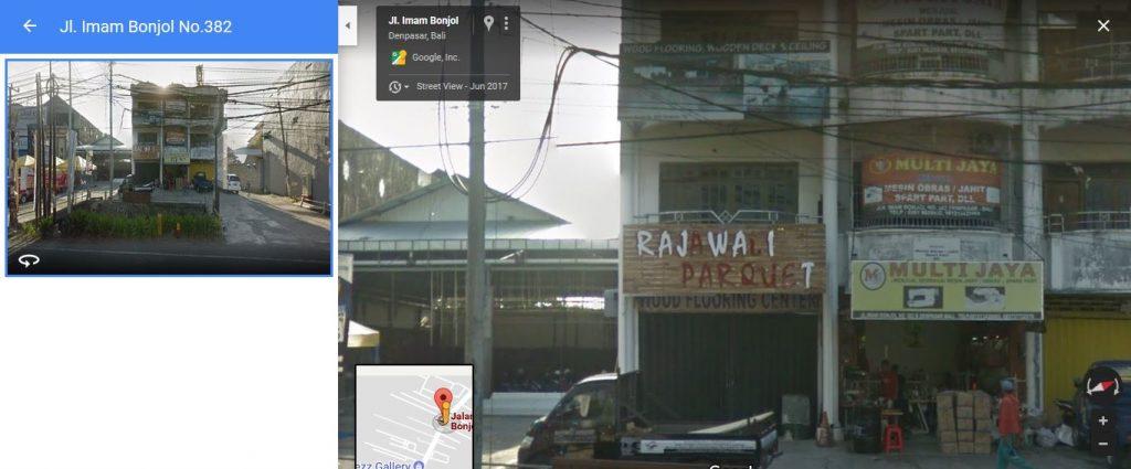 Rajaawali parquet denpasar penjual lantai kayu