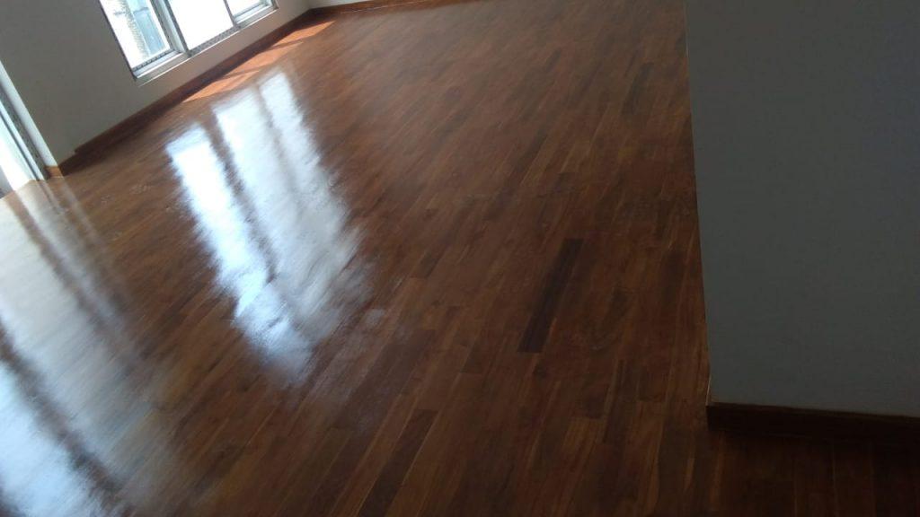 Pemasangan lantai kayu Cipete jakarta 3