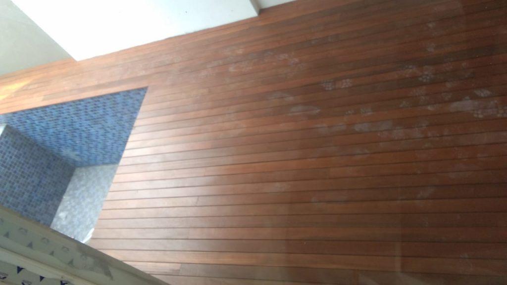 pemasangan Decking kayu Bengkirai di jakarta