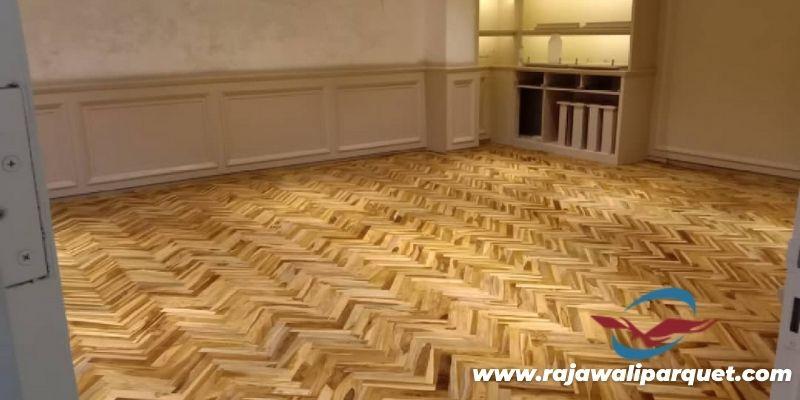 lantai parquet untuk gedung serbaguna