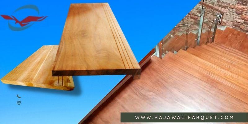 papan kayu untuk area anak tangga