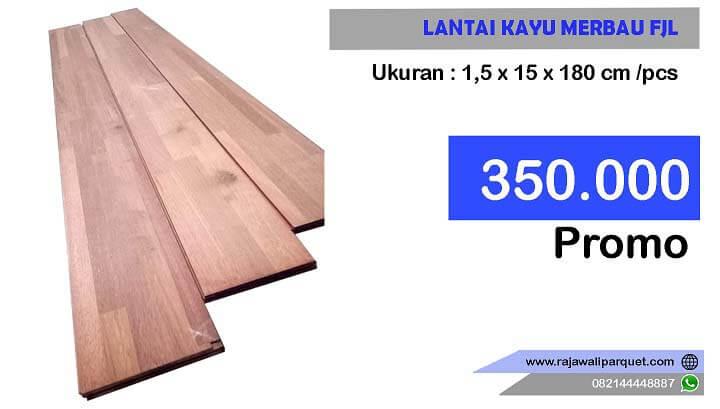 Produk lantai kayu merbau FJL