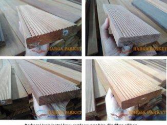 harga lantai kayu decking