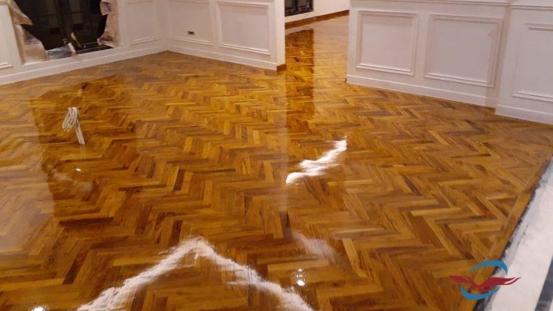 cara merawat lantai parket kayu