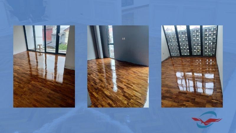 lantai parket kayu untuk rumah