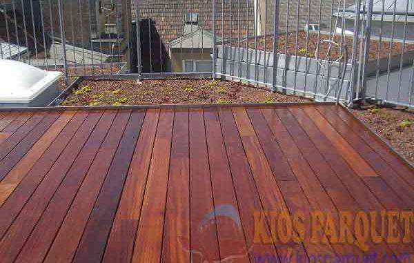lantai kayu outdoor decking