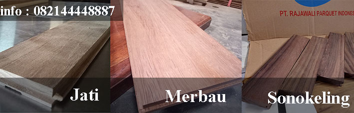 parket kayu Merbau sonokeling