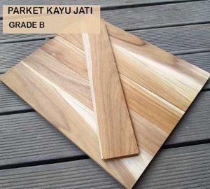 Parket Kayu Jati Grade B