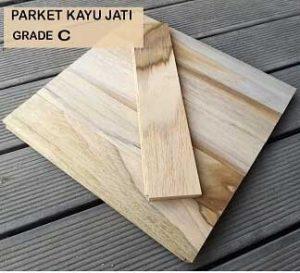 Parket Kayu Jati Grade C