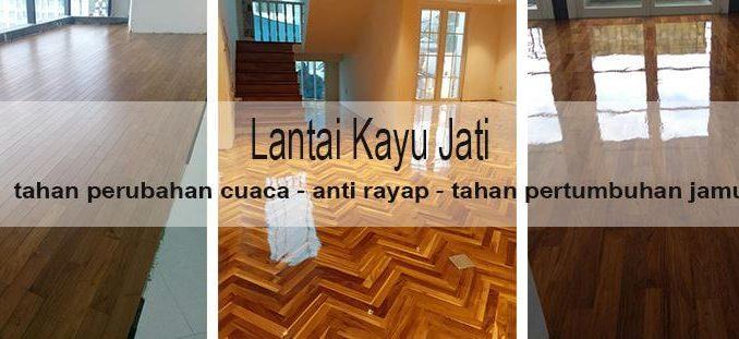 jual lantai kayu parket jati murah