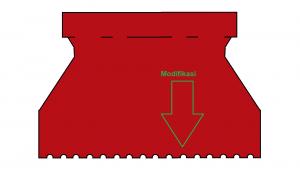 skrap modifikasi untuk lem kayu