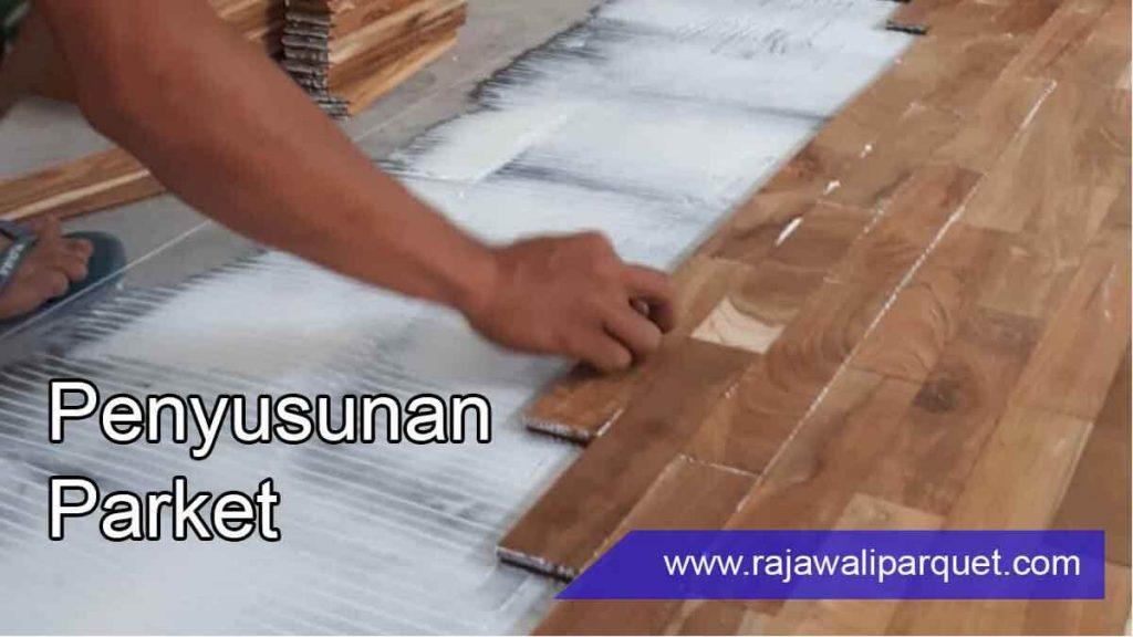 cara pasang lantai kayu 5 pemasangan parket