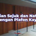 pemasangan plafon kayu